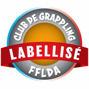 logo label club grappling