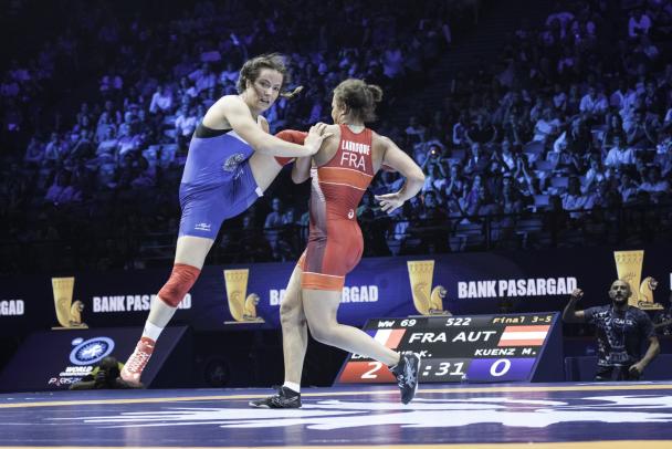 lutte feminine aux jeux olympiques