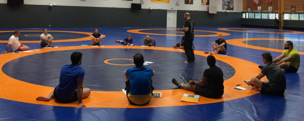 formation wrestling training
