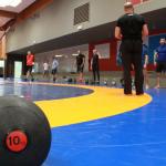 entrainement wrestling training
