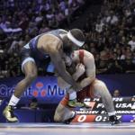 athletes lutte olympique libre