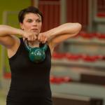 femme entrainant wrestling fitness