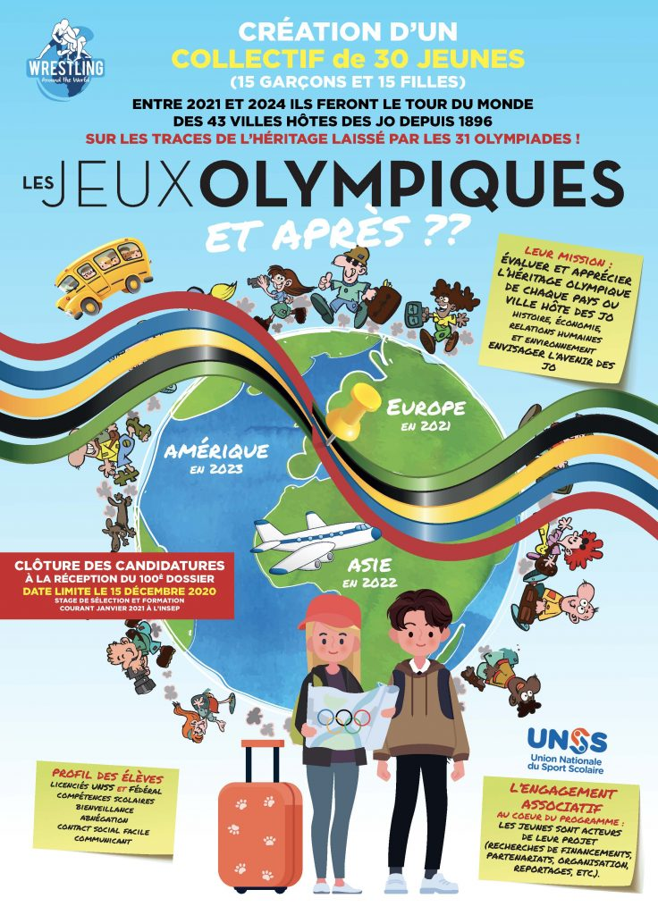 WRESTLING AROUND THE WORLD   PROJET OLYMPISME