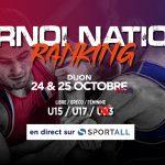 TOURNOI NATIONAL RANKING 3
