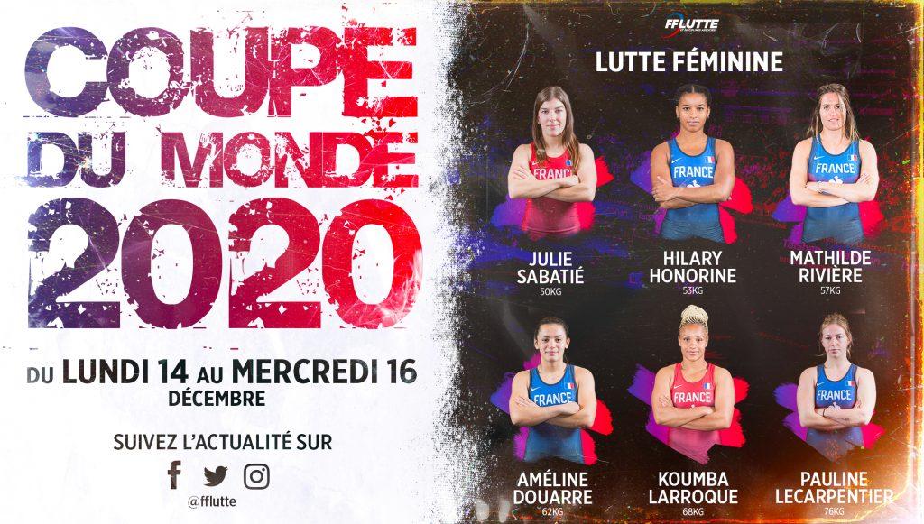 sélection lutte féminine coupe du monde