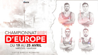 CHAMPIONNATS D'EUROPE VARSOVIE : LUTTE GRECO-ROMAINE