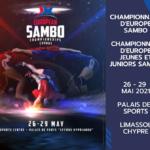 BILAN CHAMPIONNATS D'EUROPE SAMBO 2021