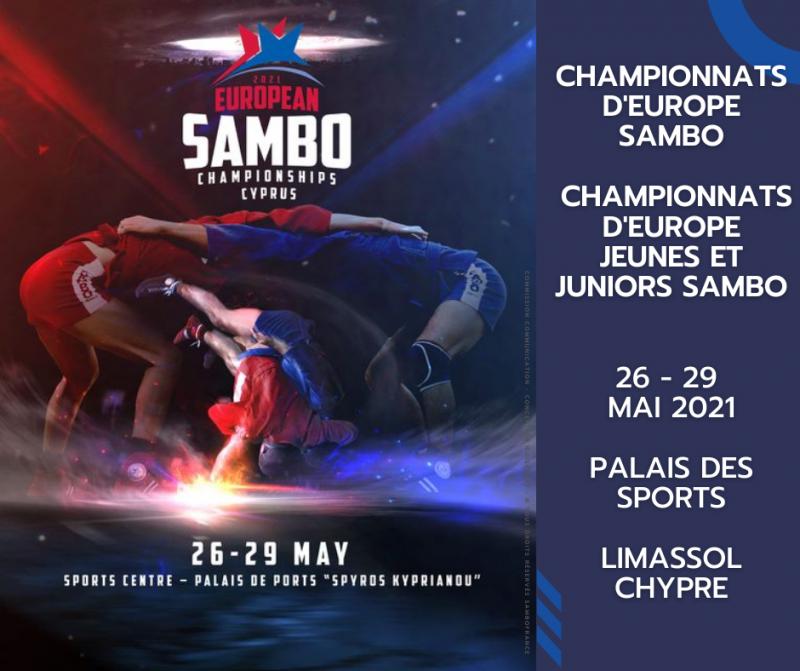 CHAMPIONNATS D'EUROPE SAMBO 2021