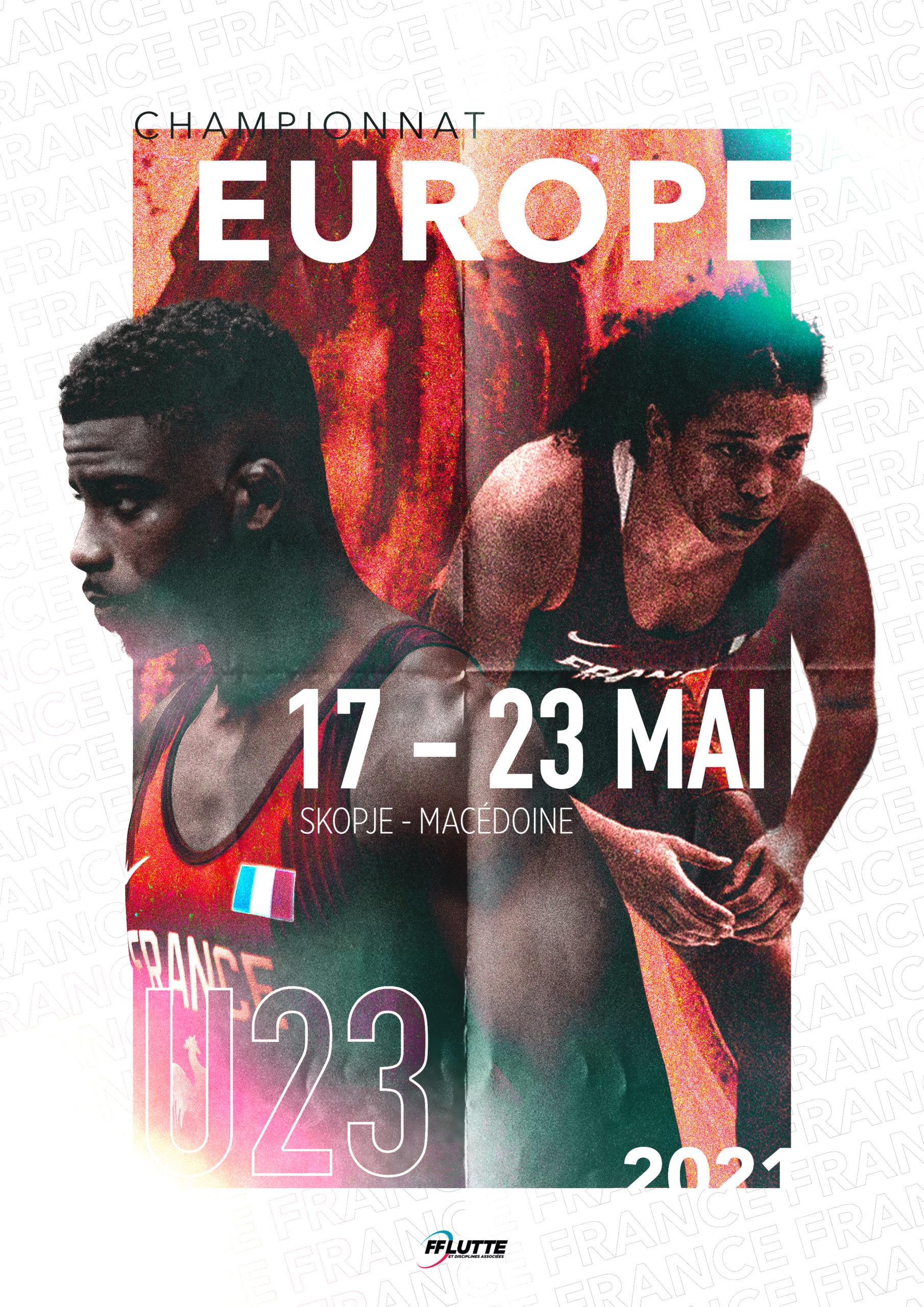 CHAMPIONNATS D'EUROPE U23 2021 - Sélection prometteuse