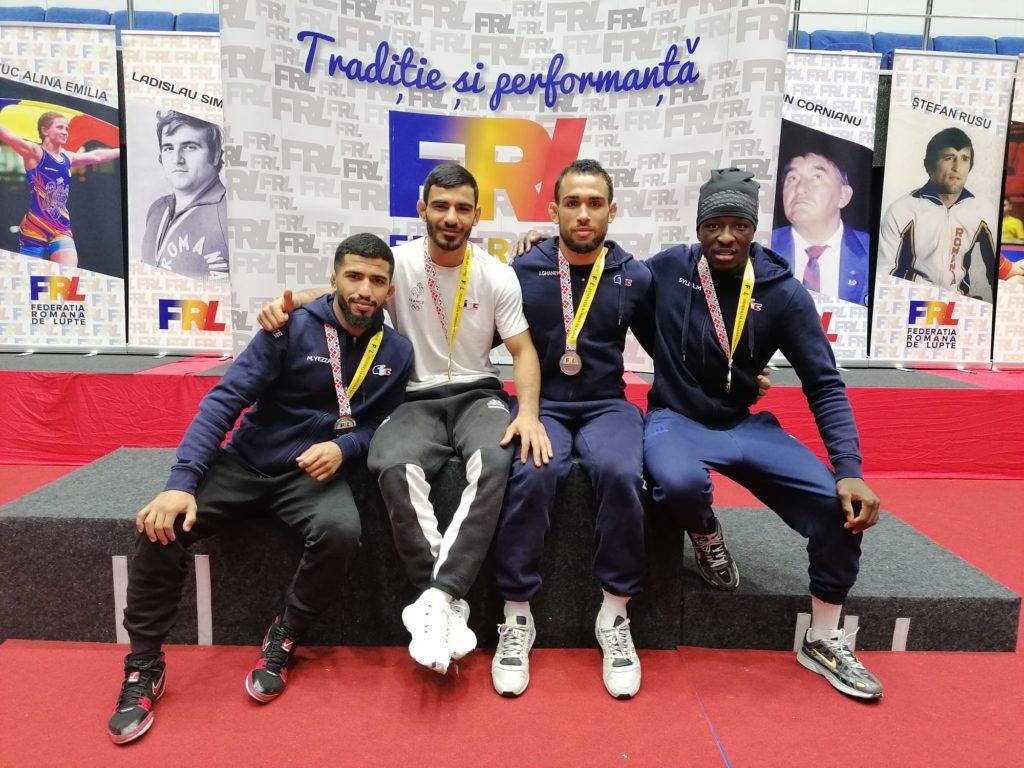Résultats Tournoi Internationale Roumanie - médaillés