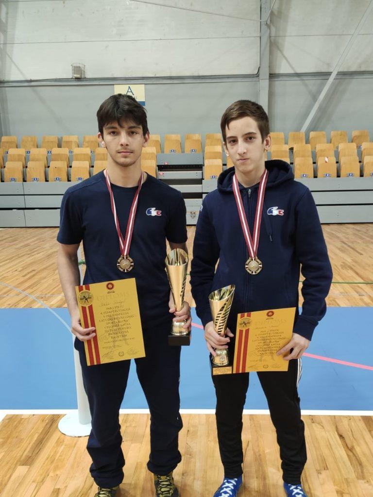 Résultats tournoi Riga - Cadet - Lutte Libre