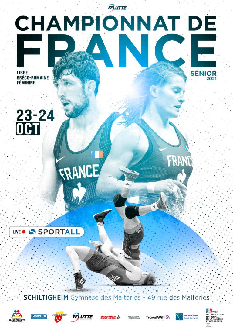 CHAMPIONNATS DE FRANCE - SCHILTIGHEIM - SEN