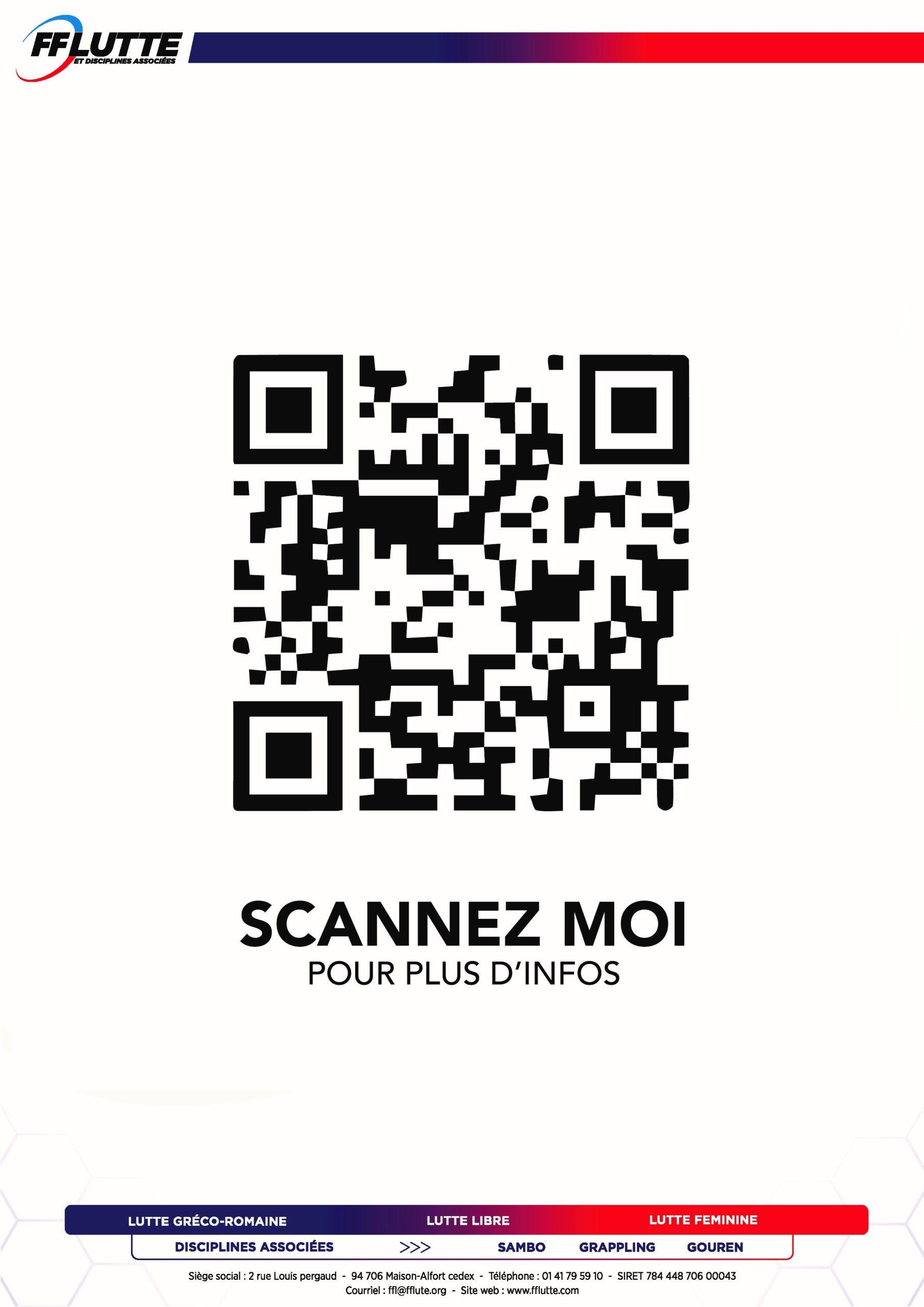 QR CODE - Championnat de France