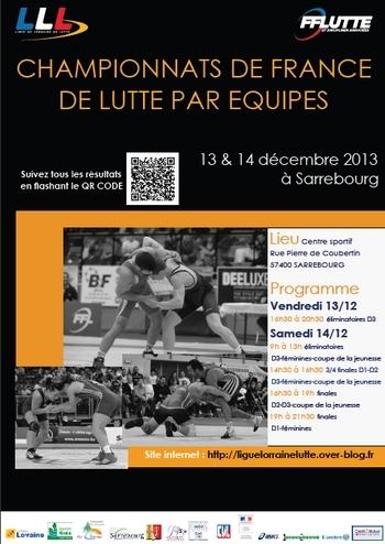 Finales championnats de France par équipes