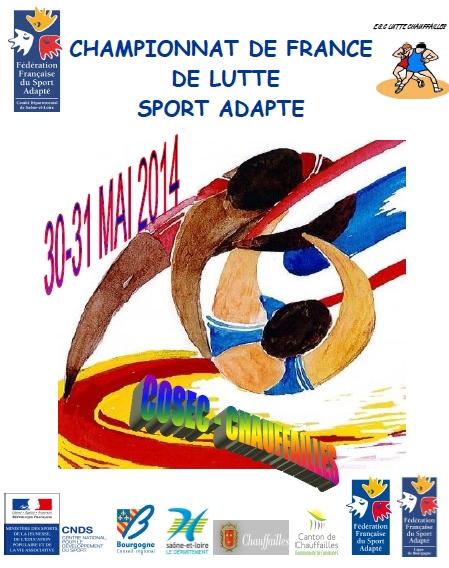Championnat de France de Lutte Sport Adapté