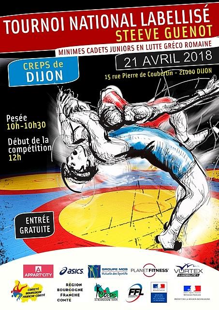 """Tournoi national de Dijon """"Steeve GUENOT"""""""