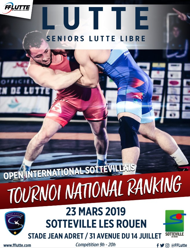 """Tournoi national ranking """"OPEN SOTTEVILLAIS"""""""