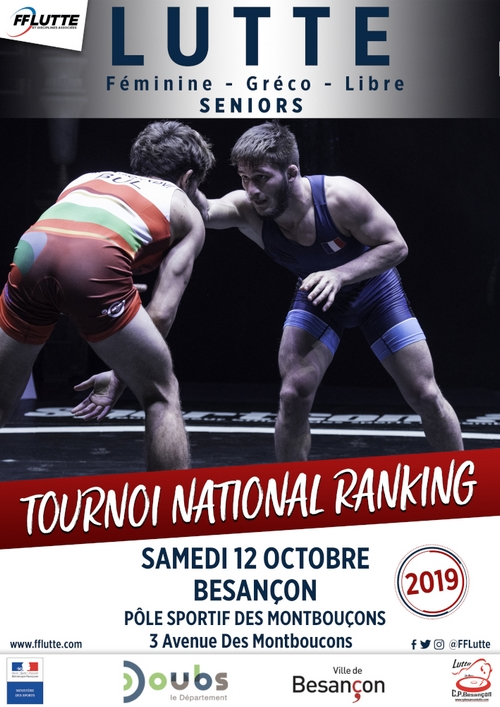 TOURNOI NATIONAL RANKING DE BESANCON